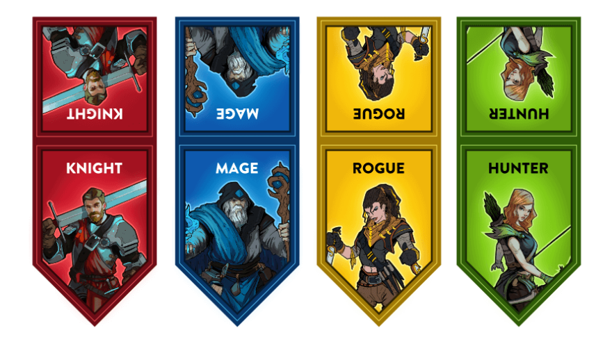 Initiative flags for the GM screen